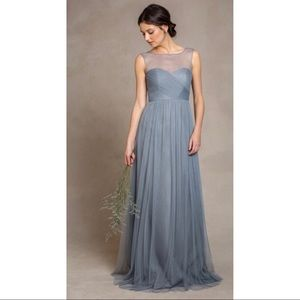 Jenny Yoo Collection, Aria Dress in Mayan Blue